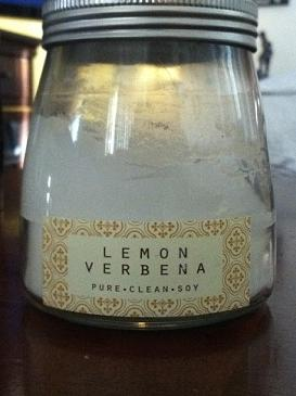 Lemon Verbena Soy Candles